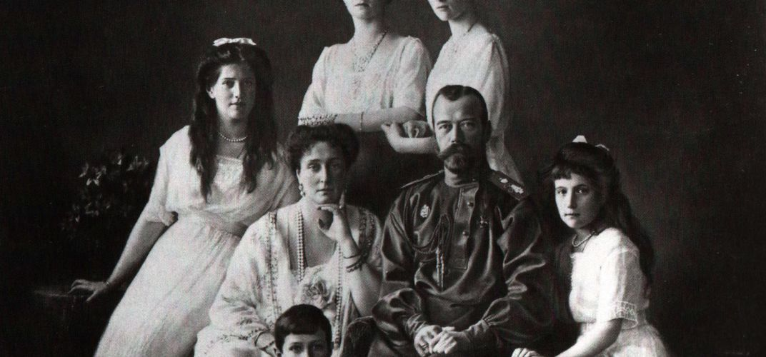 Caption: DNA Confirms Authenticity of Romanov Remains