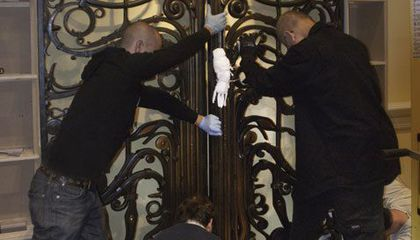 Albert Paley's Gates Return to Renwick Gallery