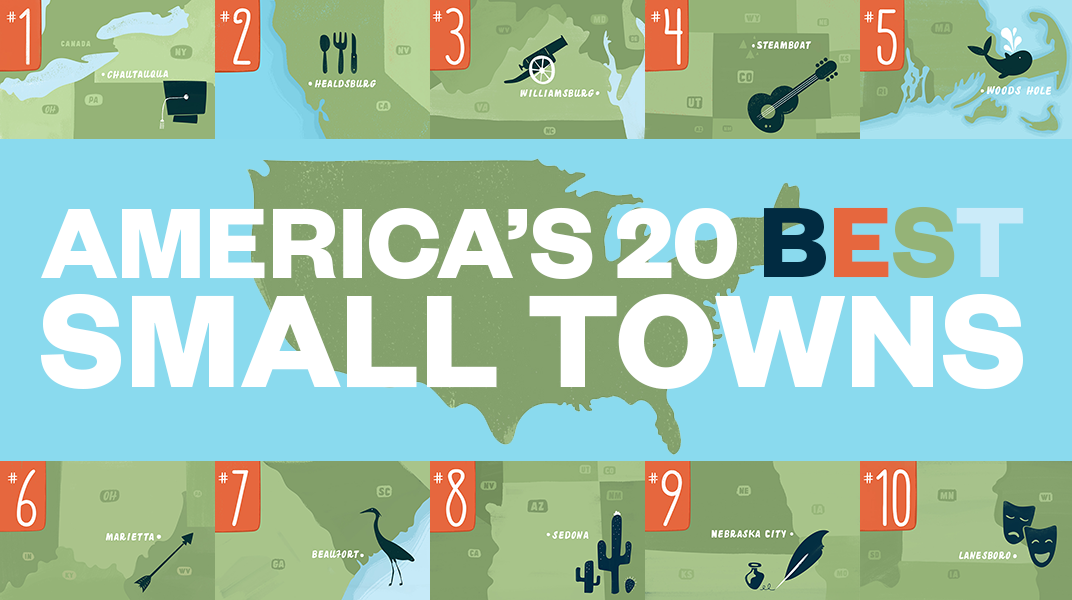 The 20 best small towns to visit in 2014 travel for The smallest town in the united states