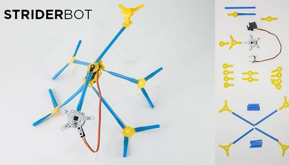 A Kit to Make Robots Out of Drinking Straws and Other Wild Ideas That Just Got Funded