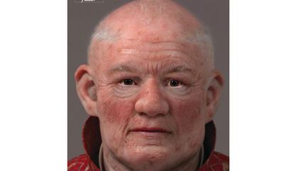 Facial Reconstruction Reveals Medieval Monk's 'Impish' Features