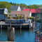 A glimpse of a fishing village in Maine