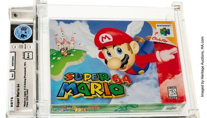 'Super Mario 64' Is Now the World's Most Expensive Video Game