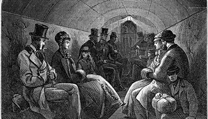 19th-Century Londoners Walked Under the Thames in This Creepy Tunnel
