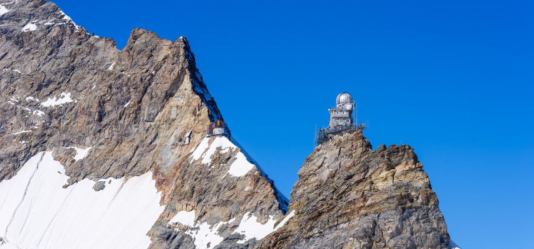 Sphinx Observatory perched in the Jungfrau