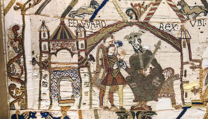 Explore Every Stitch of the Famed Bayeux Tapestry Online