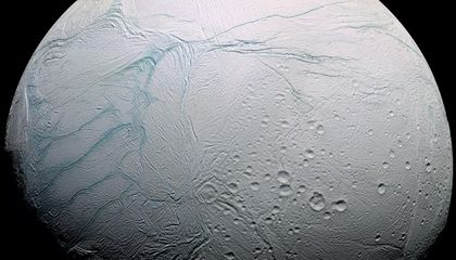 Cassini Finds a Sea Under the Ice of Enceladus