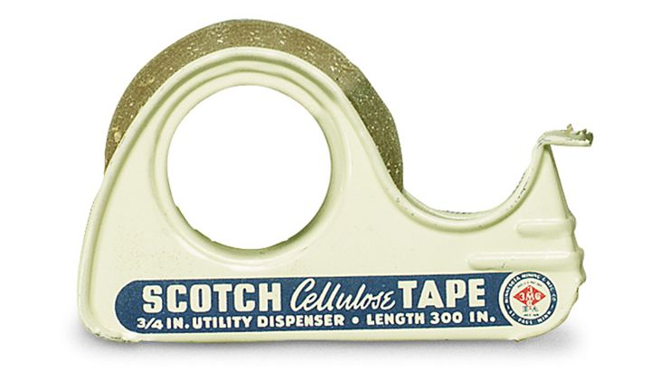 The Invention of Scotch Tape