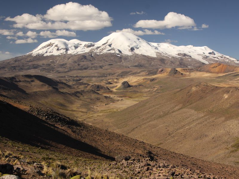 Andes volcano
