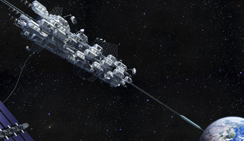 Japan Takes Tiny First Step Toward Space Elevator Space_elevator