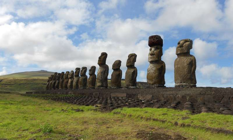 The clever way the easter island statues got hats smart news