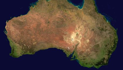 Australia Moves Millimeters In Tune With the Seasons