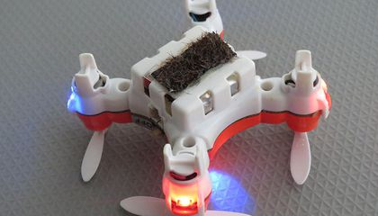 Could This Tiny Drone Covered in Sticky Goop Do the Work of Bees?