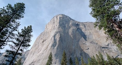 El Capitan, as seen here from the floor of Yosemite Valley, was once considered almost unclimbable.