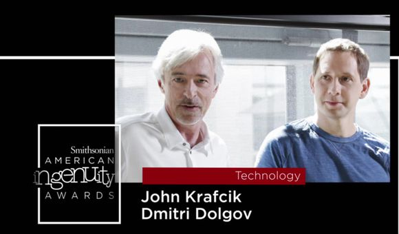 Preview thumbnail for video'Smithsonian Ingenuity Award Winners: John Krafcik and Dmitri Dolgov