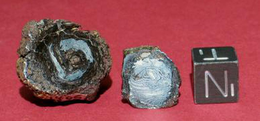 Caption: Beads Made From Meteorite Reveal Trade Network