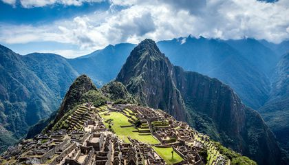 Visit Machu Picchu With Google Street View