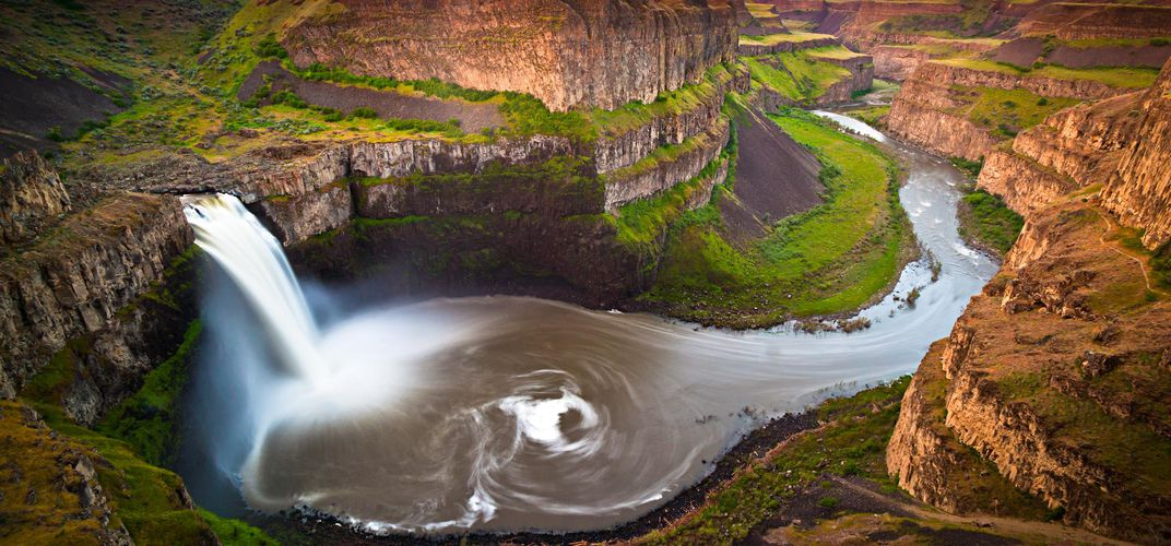 The Palouse River and waterfall. Credit: Jason Hatfield