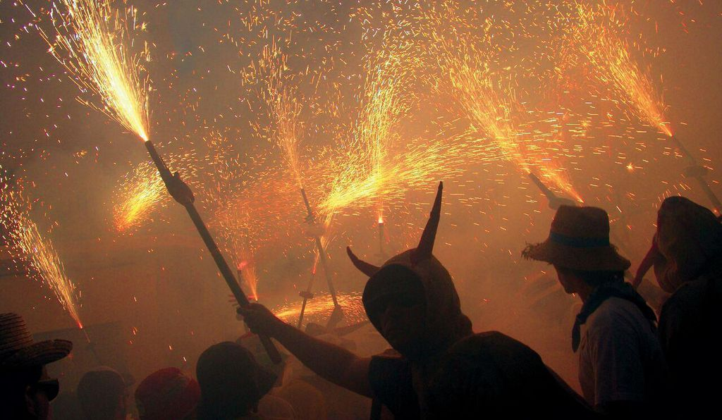 The Ball de Diables, or devils' dance, is a tradition dating back to the early 19th century that still forms a central part of Catalan celebrations.