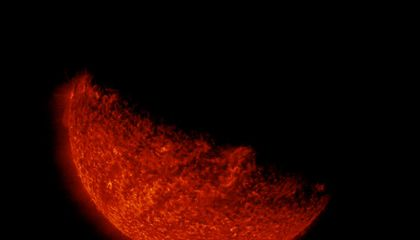 Eclipses Look Even More Gorgeous From Outer Space