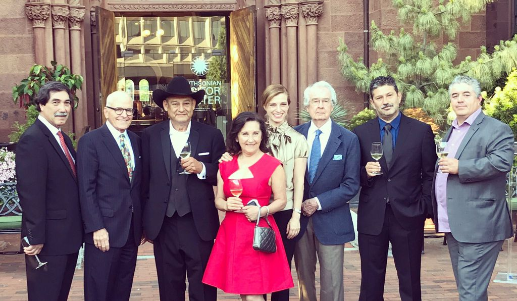 "Amelia Ceja at ""Rooted in Family: Wine and Stories from Mexican American Winemakers"" at National Museum of American History's fifth-annual Winemakers Dinner this May."