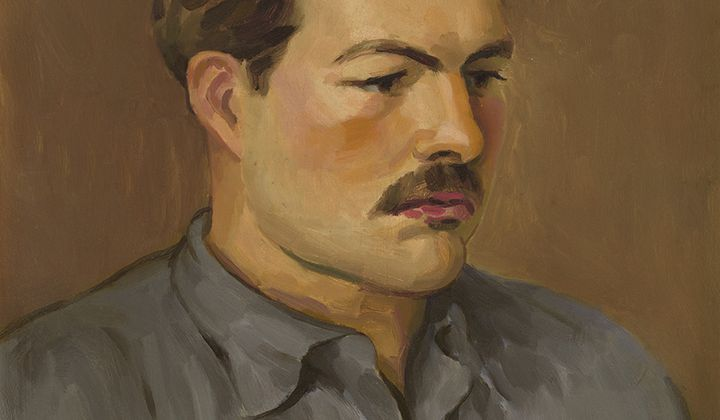 Ernest Hemingway / Henry Strater /  1930 / Private collection