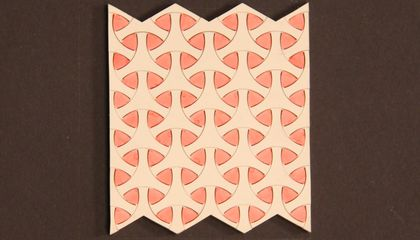 Geometric Shapes Inspire New, Stretchy Materials
