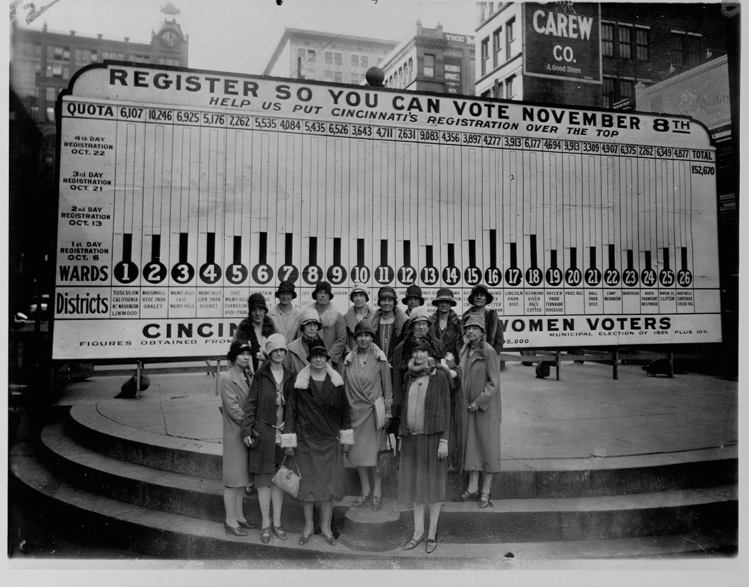 Cincinnati chapter of the League of Women Voters