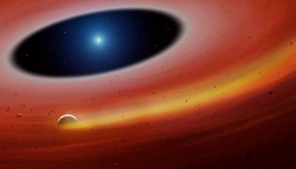 Exoplanet Core Orbiting a Dying Star May Help Astronomers Understand What Lies in Store for Our Solar System