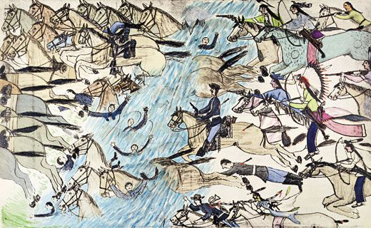 How the Battle of Little Bighorn Was Won History Smithsonian