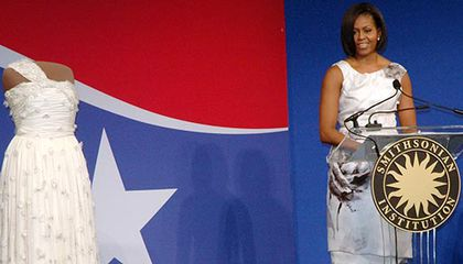 Michelle Obama Inagural Ball dress