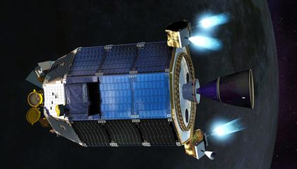 LADEE – Measuring Almost Nothing and Looking for the Almost Invisible