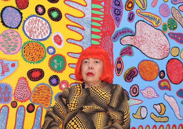 Caption: Yayoi Kusama Secretly Built a Museum