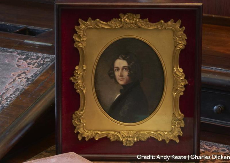 The Charles Dickens Museum Acquires 'Lost' Portrait of the Author as a Young Man