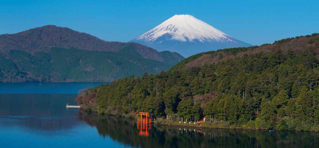Mt. Fuji and Ashi Lake