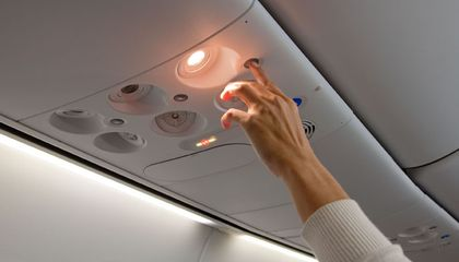 Pressing Your Flight Attendant's Buttons