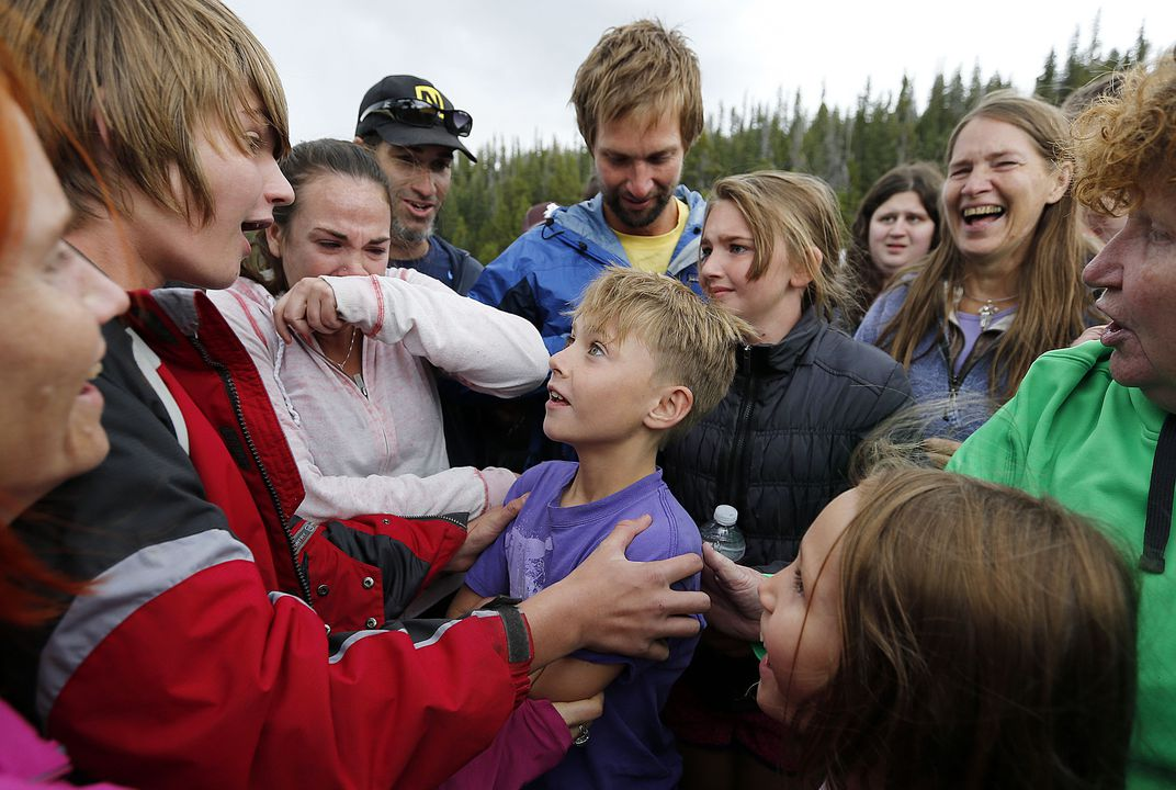 Boy lost in Utah found in mountains