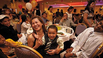 Vietnamese Amerasians celebrating their heritage