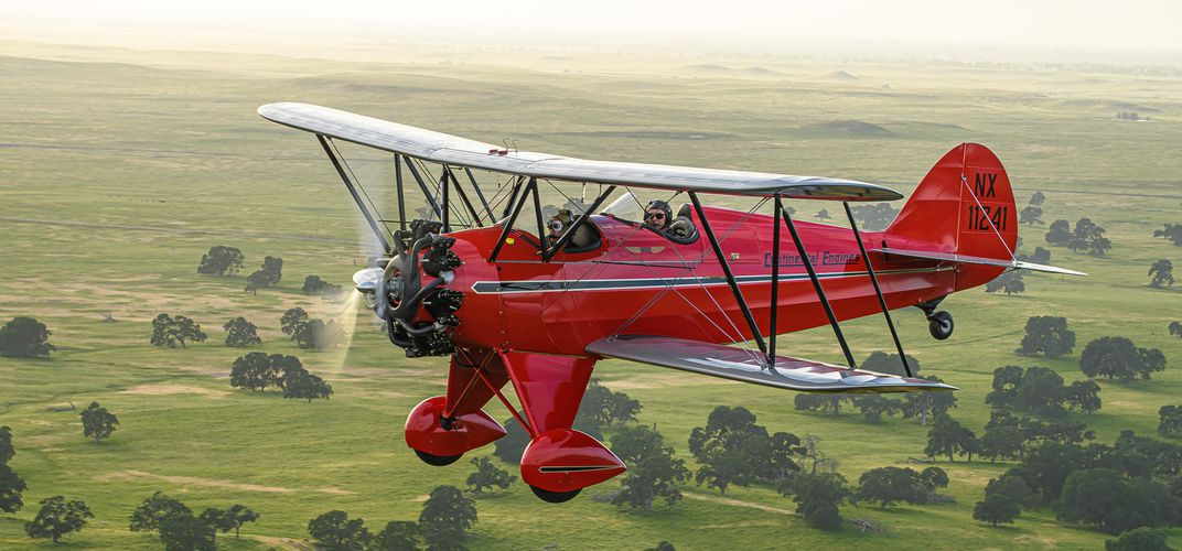 Caption: Airplane of the Year Honors Go to 1931 Waco