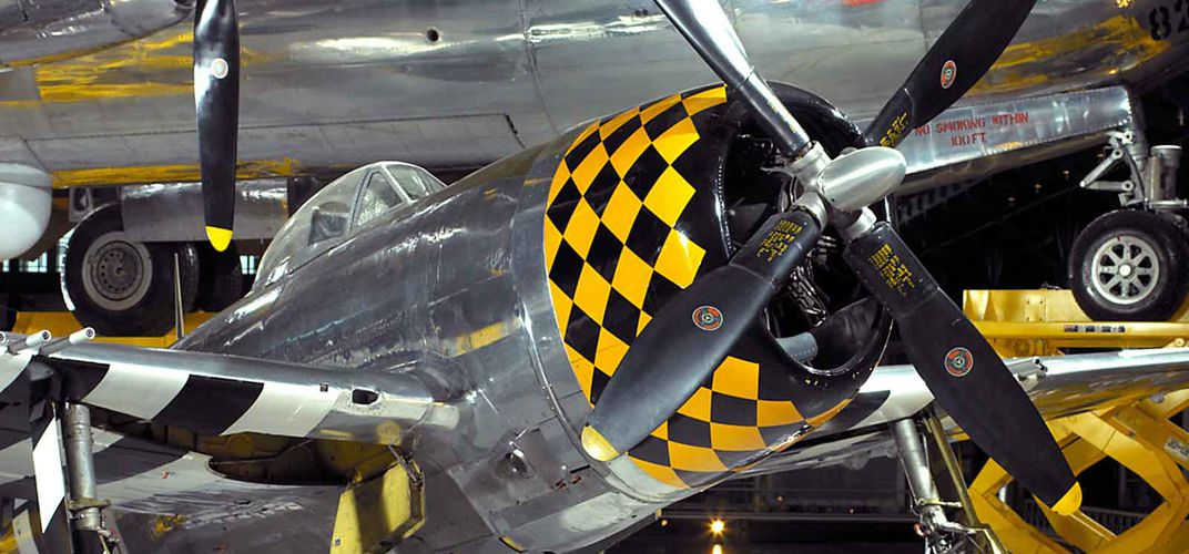 Caption: When P-47 Thunderbolt Ruled the Skies