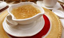 Shark Fin Soup in Hot Water