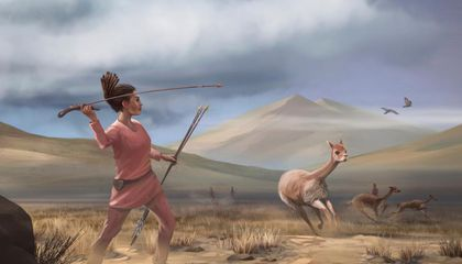 This Prehistoric Peruvian Woman Was a Big-Game Hunter