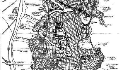 The Cartographer Who Mapped Out Gotham City