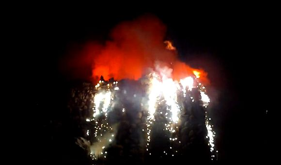 Preview thumbnail for video'Watch the Eruption of the Bizarre Artificial German Volcano