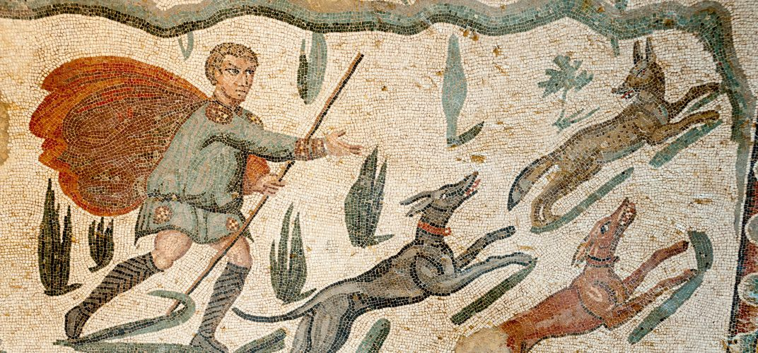 Mosaics at the Roman Villa del Casale, Piazza Armerina