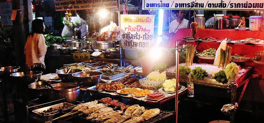 Caption: Bangkok Is Banning Street Food