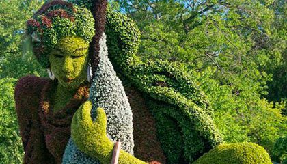 Horticultural Artists Grow Fantastical Scenes at the Montréal Botanical Garden
