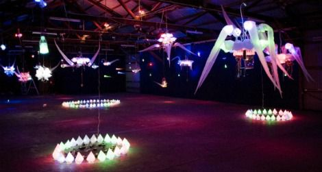 Shih Chieh Huang's creations