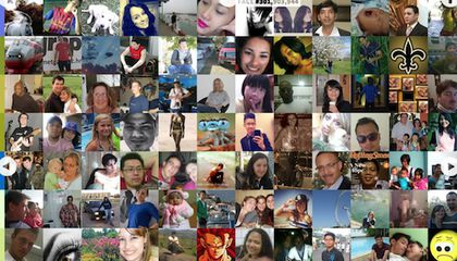 This Site Shows You Every Face on Facebook