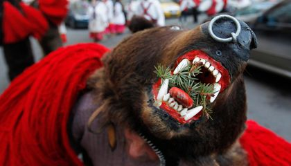 Ring in the New Year by Dressing Up as a Bear